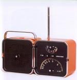 1952: La radio cube Brionvega