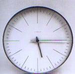 1957 L'horloge de MaxBill