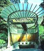 1903 Les entrées de métro Guimard
