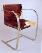 1928 La chaise MR 50 de Mies van derRohe