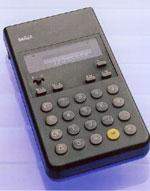 1977 Ah la calculette Braun!