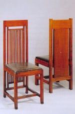 1908 Les grandes chaises du grand F.L. Wright