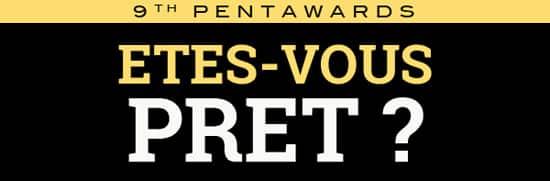 Les Pentawards 2015, c'est demain!.