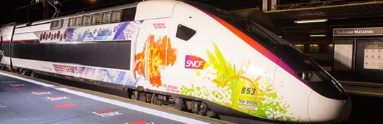 Vague de design sur le TGV l'Océane