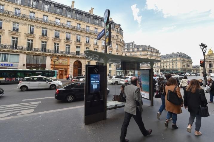 JCDecaux: un design très urbain